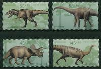 Bund Nr. 2687 - 2690 sauber postfrisch Block 73 Dinosaurier Einzelmarken 2008