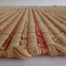 Tapis vintage art déco carpet fait main handmade PN France