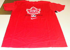 Team Canada 2015 World Juniors S Hockey Iihf 100th Anniversary T Shirt Red