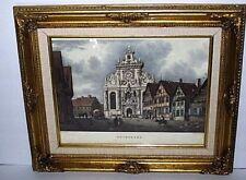 Lt. Col. Robert Batty framed Long Street with City Church Buckenburg, Germany