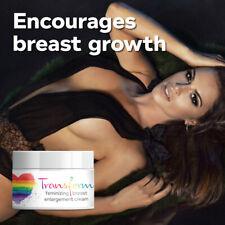 Transform Feminizing Breast Enlargement Cream. Big boobs, breast tissue growth