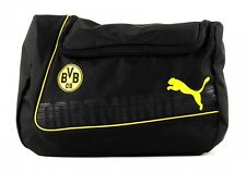 PUMA Cosmétiquetasche BVB evoPower Wash Bag Cyber Yellow-Black
