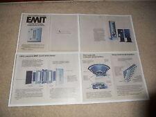 Infinity 1977 EMIT Tweeter Brochure, 4 pages, Articles, Info, Qa, Q2