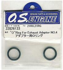 OS Engines 22826133 O RING for EXHAUST ADAPTOR No.4 .21RX .21RG 2pcs NIB