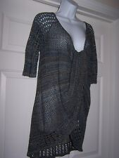 New Directions Women's L Knit Cardigan / Sweater 1/2 Sleeve Multi-Color NWOT