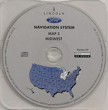 03 04 05 06 Ford Expedition Escape Hybrid Navigation Map #5 IN MI Partial WI IL