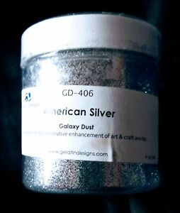 VINTAGE GALAXY DUST 4oz SILVER! FOOD DECORATION / UNOPENED!!  Real‼️