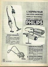 J- Publicité Advertising 1961 Aspirateur Philips