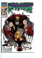 Marvel Comics Presents Wolverine Issue # 92 Comic 1991 nm/m Cable H7