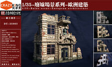 Crazy King DY35003 1/35 WWII European architecture Type 3 Diorama Resin kit