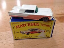 Matchbox Vintage Thunderbird #75 Peach and White