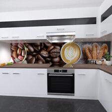 Kitchen wall Premium Rigid PVC 0,4mm Stove splashback for in kaffeedesign