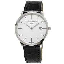 Frédérique Constant Slimline Men's FC-220S5S6 Quartz Silver-Tone Dial 38mm Watch