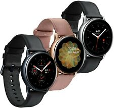 Open Box Samsung Galaxy Watch Active 2 SM-R830 Leather Stainless Steel 40mm
