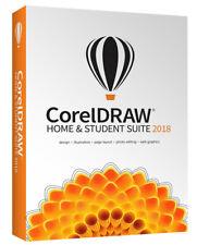 CorelDRAW Home & Student Suite 2018 - New Retail Box