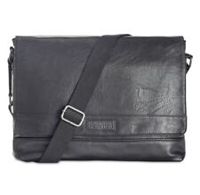 Kenneth Cole Reaction Men's Pebbled Messenger Bag- Brand New! $160 retail price!