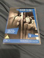 Born To Kill (DVD, 2012) REGION 0