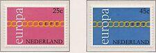 Nederland Europa CEPT 1971 990-991 (Mi 963-964) - Postfris MNH