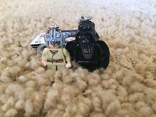 Lego Star Wars Anakin Skywalker & Darth Vader Minifigure Keychains 853412 Rare