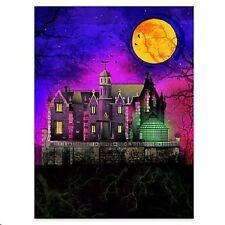 Disney Wonderground Gallery Disney World Haunted Mansion Postcard, NEW