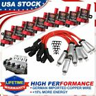 D585 Ignition Coil Spark Plug Pack For Chevy Silverado GMC LS1 LS3 4.8 5.3L 8.1L