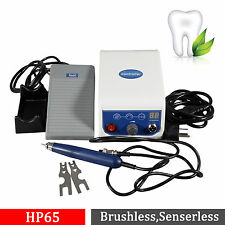 Dental Lab Micromotor Marathon Brushless Polisher 50K RPM Handpiece Maratón HP65