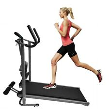 Folding Incline Mechanical Treadmill Running Exercise Fitness Running Machine