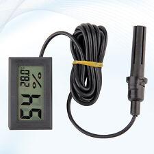 Eg _ Hot LCD Digitale Igrometro Temperatura Umidità Misuratore con Sonda Peachy
