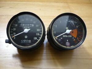 SUZUKI TS400 set of clocks