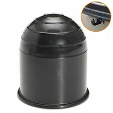 50mm Hot Auto Car Hitch Cover Black Plastic Tow Bar Ball Case Protector