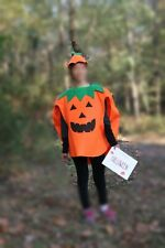 Pumpkin Jack-o-Lantern Costume in Excellent Condition!