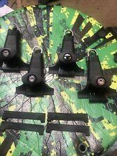 Yakima 1a Raingutter Towers Perfect 4 Withlocks Amp Keyrubber Pads