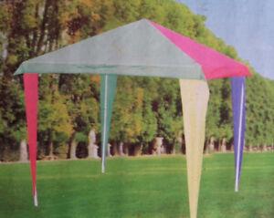 Kinder Pavillon Kinderzelt Kinderpartyzelt Kinderpavilion 150x150 cm