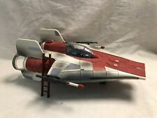 LOOSE STAR WARS LEGACY GREEN LEADER'S ARIEL CRYNYD A-WING FIGHTER
