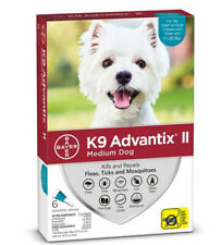 K9 Advantix Ii Flea Medicine Medium Dog 6 Month Supply Pack K-9 11-20 lbs