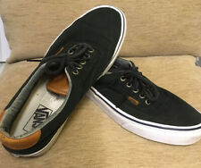 Vans Mens Shoes In Black And Tan Size 8 UK, 10 US