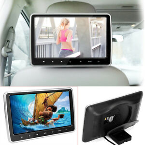 "10.1"" Headrest DVD Player Car Multimedia Back Seat Entertainment Monitor 1080P"