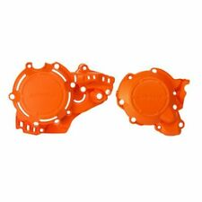 FITS: KTM 250 SX XC 300 XC Acerbis X-Power Ignition/Clutch Cover Kit Orange