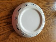 Longaberger pottery woven traditions blue