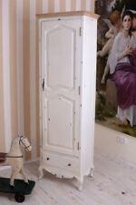 Armoire à Linge Blanc Armoire shabby chic Penderie Armoire Garde-Robe ancien