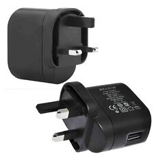 2x BELKIN CARGADOR DE PARED USB ADAPTADOR GB 3 pines para Apple samsung htc lg