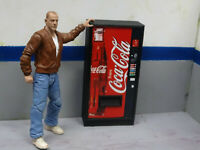 Drink Vending Machine Coke  Action Figure Garage Diorama Crawler Dollhouse 1/10