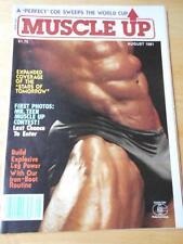 MUSCLE UP bodybuilding fitness magazine/BRONSTON AUSTIN 8-81