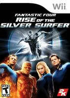 Fantastic Four: Rise Of The Silver Surfer For Wii Very Good 4E