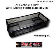 ATV Cargo Basket Tray Mesh Front STORAGE Grizzly Polaris CAN-AM Utility Quad
