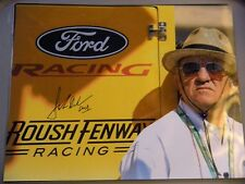 JACK ROUSH signed lot NASCAR FENWAY RACING 11x14 photo MUSTANG promo OWNER