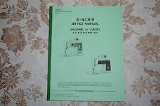 Professional Full Edition Service Manual: Singer 620 625 626 628 Sewing Machines