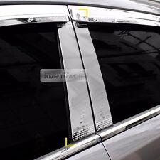 Chrome Window Side B Pillar Molding Trim Garnish Cover for KIA 2011-16 Sportage