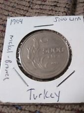 TURKEY   TURQUIE  5000  lira 1994 etat
