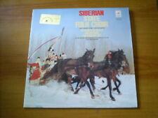 SIBERIAN STATE FOLK CHOIR RUSSIAN LP MELODIYA 1974